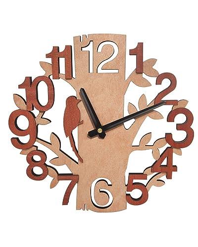 Large Funky Coloured Kitchen Round Fun Wall Clock 34 Cm Fifties Theme Home Furniture Diy Clocks Zigndigital No