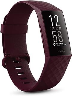 Fitbit Charge4 GPS搭載フィットネストラッカー Rosewood L/Sサイズ [日本正規品] FB417BYBY-FRCJK