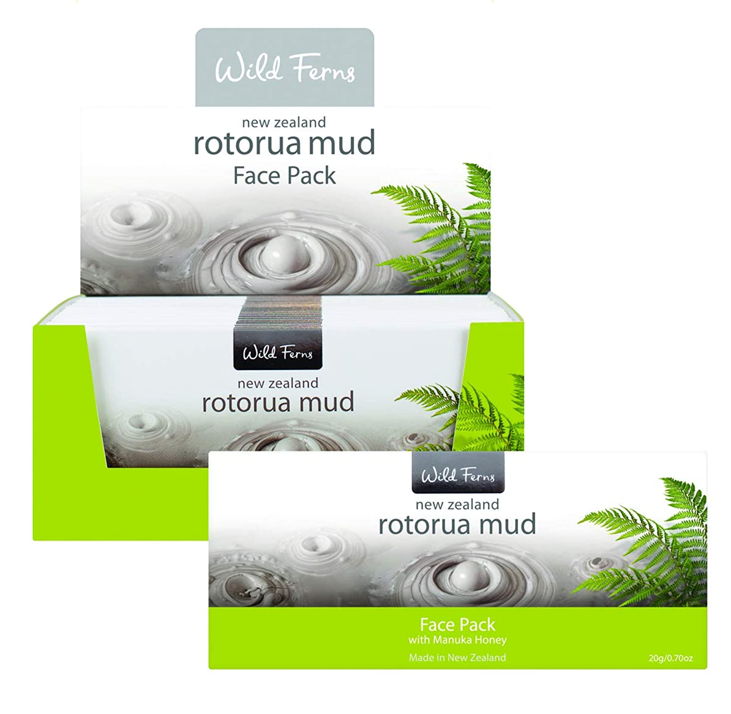 サラミ推測するピンポイントRotorua Mud Face Pack with Manuka Honey 20g