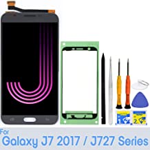 for Samsung Galaxy J7 Screen Replacement LCD Display Touch Digitizer Assembly (Gray) for J727 2017 Prime SM SM-J727 J727P J727U J727T J727T1 J727R4 J727V Sky Pro S727VL S737TL SM-J727A
