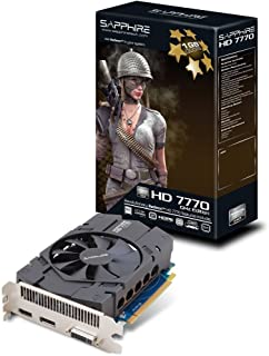 SAPPHIRE ビデオカード HD7770 GHZ EDITION 1G GDDR5 PCI-E HDMI / DVI-I / DP 日本正規代理店品 VD4867 SAHD777-1GD5R01