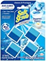 Soft Scrub In-Tank Toilet Cleaner Duo-Cubes, Sapphire Waters, 4 Count