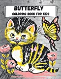 Butterfly Coloring Book for Kids: Realistic butterfly Designs coloring books for kids ages 6-12