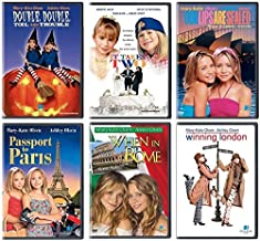 Mary-Kate and Ashley Olsen DVD 6-Pack: Double Double Toil and Trouble / It Takes Two / Our Lips are Sealed / Passport to Paris / When in Rome / Winning London