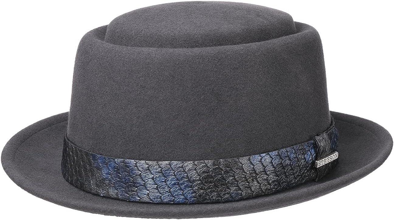 Stetson Laurentis Pork Pie VitaFelt Hat Women/Men - Made in USA