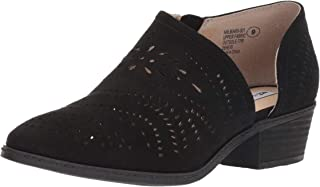 Anouk Asymetrical Perforated Bootie