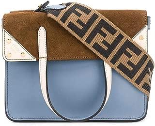 Luxury Fashion | Fendi Womens 8BT306A6CGF19PW Light Blue Handbag | Spring Summer 20