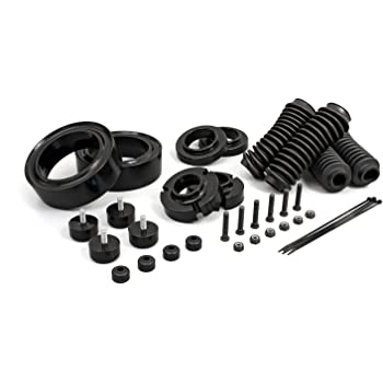 amazon com supreme suspensions full lift kit for 2000 2007 toyota sequoia 3 front lift aircraft billet strut spacers 3 rear lift high density polyurethane spring spacers 2wd 4wd automotive full lift kit for 2000 2007 toyota