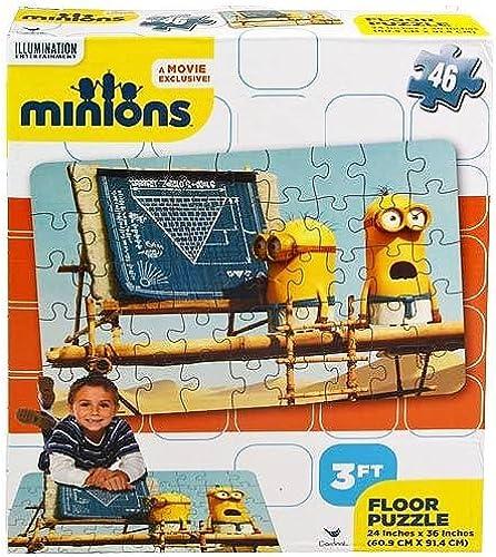 orden ahora disfrutar de gran descuento MInions Floor Puzzle - 46 46 46 pieces 24 x 36 by Minions, The  Ven a elegir tu propio estilo deportivo.
