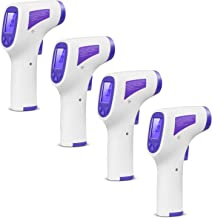 4- Pack Infrared Thermometer with Multi Measurement Modes for Fast/Accurate Body, Surface and Ambient Temperatures QY-EWQ-01
