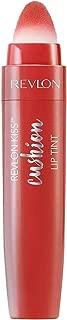 Revlon Kiss Cushion Lip Tint Lipstick, High End Coral