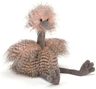 Jellycat Mad Pet Odette Ostrich Stuffed Animal, Medium, 20 inches