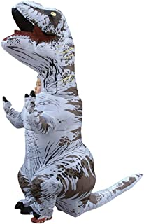 WEN-mask Halloween Inflatable Clothing, Dinosaur Cosplay, Children's Style (Color : White)