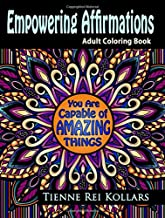 Empowering Affirmations: Adult Coloring Book