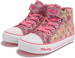 f7c55202dc1e Weestep Toddler Little Kid Girls Star Rainbow Mid Top Sneaker