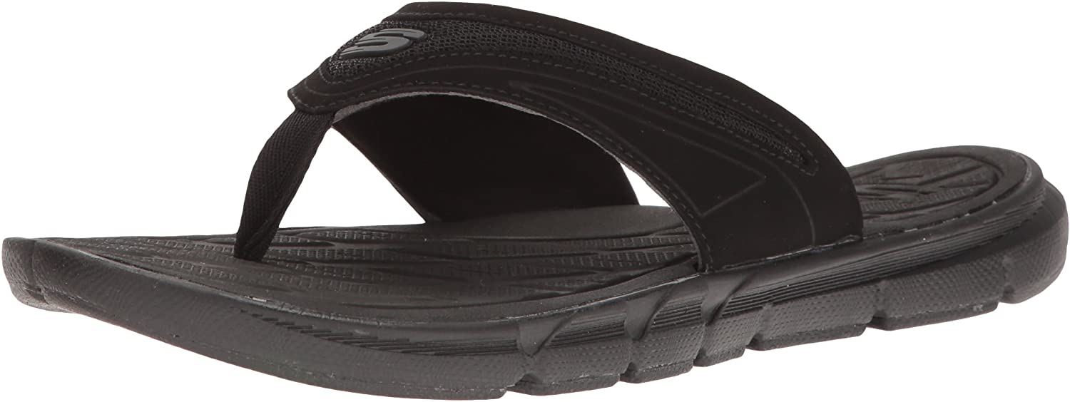 Skechers Womens Sport Thong with Memory Foam Flip Flop