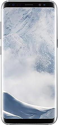 Samsung Galaxy S8 Plus 64GB - Verizon + GSM Factory Unlocked 4G LTE - Arctic Silver (Renewed)
