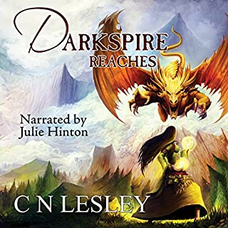 Darkspire Reaches audiobook cover art