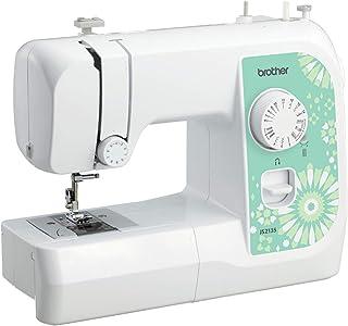 Brother JS2135 - Máquina de coser (Verde, Blanco, Bordado,