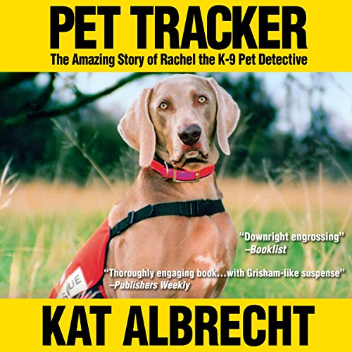 Pet Tracker audiobook cover art