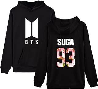 Kpop BTS Hoodie Love Yourself Persona Sweatershirt SUGA Jimin Jungkook V Merchandise