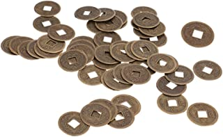FLAMEER Juego De 6 Monedas De Feng Shui Moneda De Fortuna De Lat/ón De 1,65  Moneda China De Afortunado I Ching