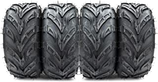 4pcs 145/70-6 ATV Go Kart Tires 4PR P361 Rated Black 145x70x60 Tubeless Tires