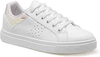 CS20018 Beyaz Kadın Sneaker Ayakkabı