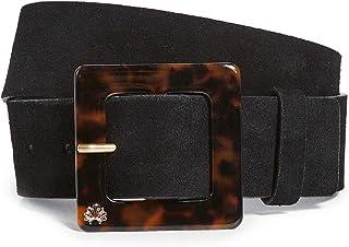 Lele Sadoughi Women's Acetate Buckle Belt