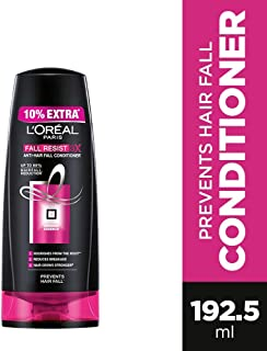 L'Oreal Paris Fall Resist 3X Anti-Hairfall Conditioner, 175ml (With 10% Extra)
