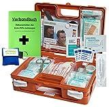 Erste-Hilfe-Koffer Quick mit'Notfallbeatmungshilfe' für Betriebe DIN/EN 13157 + DIN 13164 für KFZ