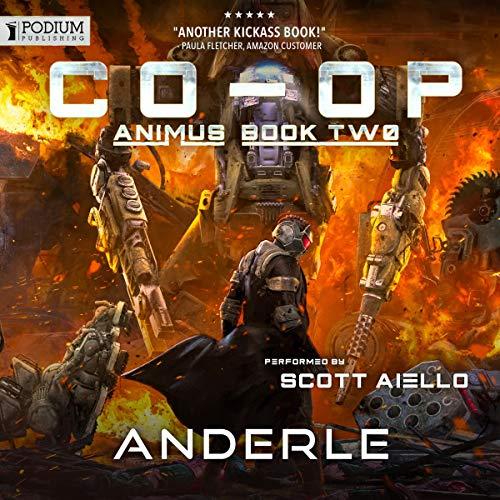 Co-op audiobook cover art