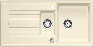 BLANCO ZIA 6 S – Rechteckige Granitspüle aus SILGRANIT für 60 cm breite Unterschränke – beige – 514735