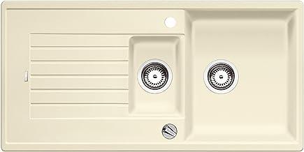 BLANCO ZIA 6 S - Rechthoekige granieten spoelbak van silgraniet voor 60 cm brede onderkasten - beige - 514735