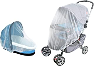 Baby Stroller Bassinet Mosquito Bug Net Shield Cover for Infant