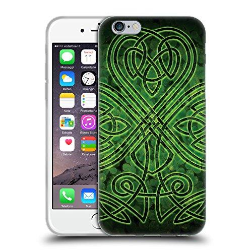 Head Case Designs Officially Licensed Brigid Ashwood Irish Shamrock Celtic Wisdom 3 Soft Gel Case Compatible with Apple iPhone 6 / iPhone 6s