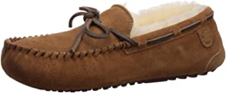 Women's Fireside Water Resistent Shearling Victoria Moc with Tie Slipper
