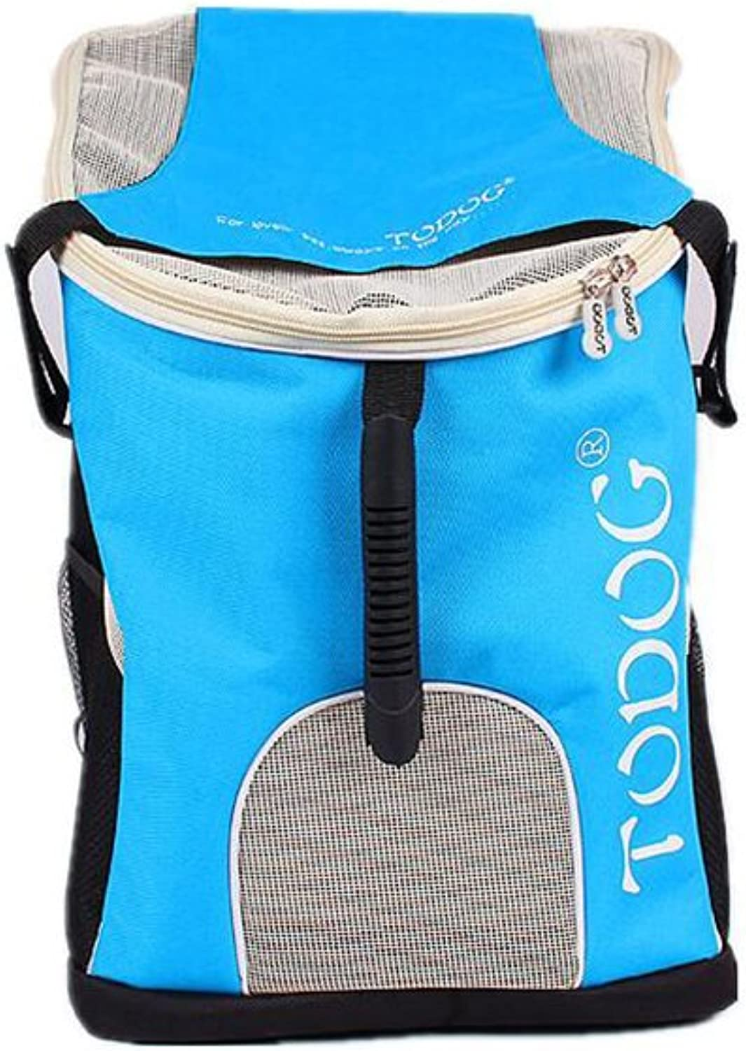 DALL Carriers FS967 Big Space Cats and Dogs Pet Package Pet Carrier Comfortable Shoulder Straps Good Ventilate (Colore: BLUE)
