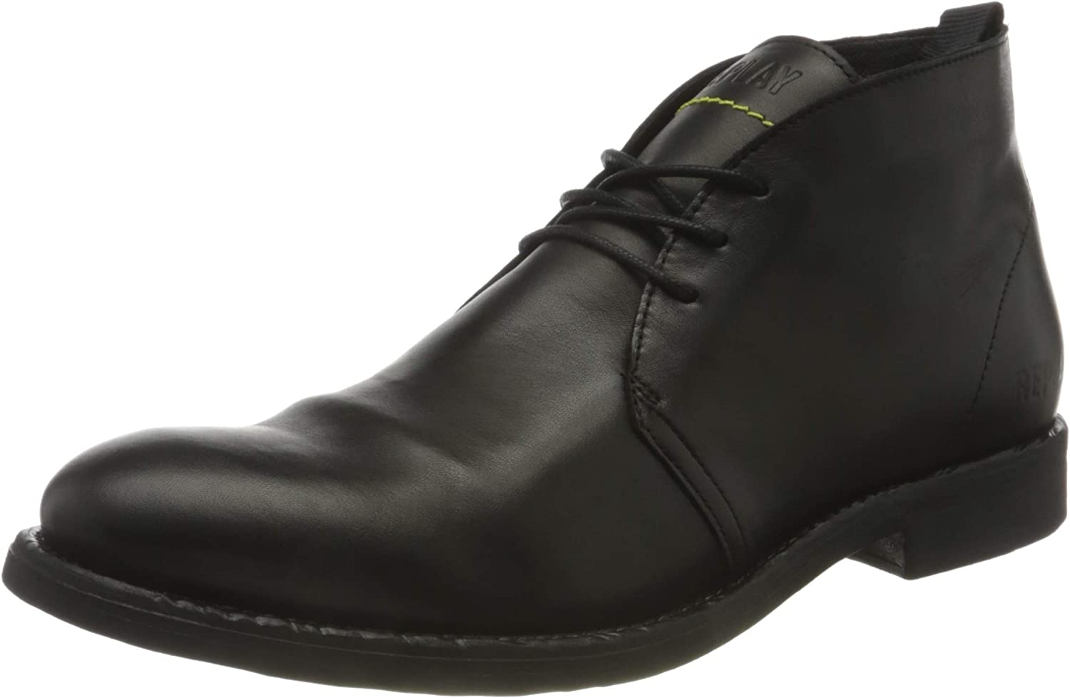 REPLAY Men's sold out City-HENNESEY Ankle Boot 003 UK Dedication Black 10