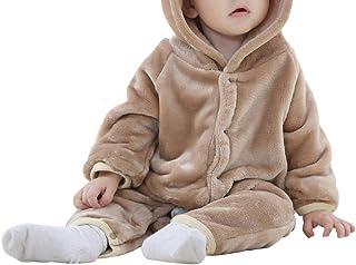 Glaiidy Chaqueta para niños Moda Abrigo de Invierno para niños Lindos Bebés y niños Sudadera con Capucha Ropa de Abrigo pa...