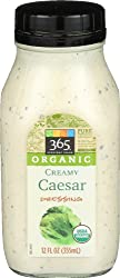 365 Everyday Value, Organic Creamy Caesar Dressing, 12 oz
