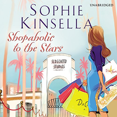 Shopaholic to the Stars audiobook cover art