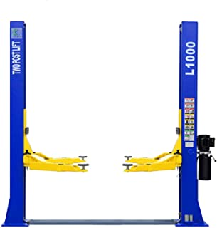 XK USA L1000 10,000LBS Two Post Lift Car Auto Truck Hoist / 12 Month Warranty