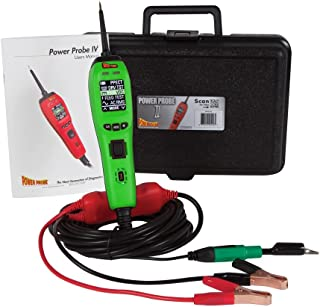 Power Probe IV w/Case & Acc - Green (PP405AS) [Car Diagnostic Test Tool Digital Volt Meter ACDC Current Resistance Circuit and Fuel Injector Tester]