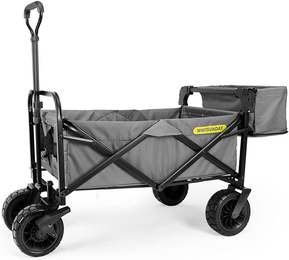 WHITSUNDAY Collapsible Folding Garden Max 80% Popular brand in the world OFF Outdoor Park Utility Wagon
