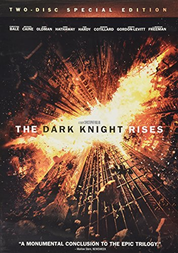 THE DARK KNIGHT RISES TWO DISK SPECIAL EDITION