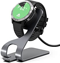 Charger for Garmin Instinct/for Garmin Vivoactive 3 4/for Fenix 5/for Fenix 6, Magnetic Charger Station with 5FT USB Cable...
