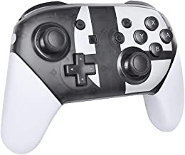 Switch Pro Controller,Wireless Pro Controller Compatible for Nintendo Switch with Rechargeable and Bluetooth (Black and White)