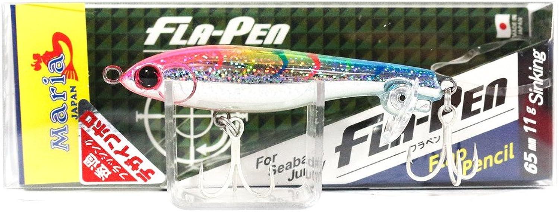 Maria Fla Pen S65 Fluttering Pencil Sinking Lure 49H (6406)