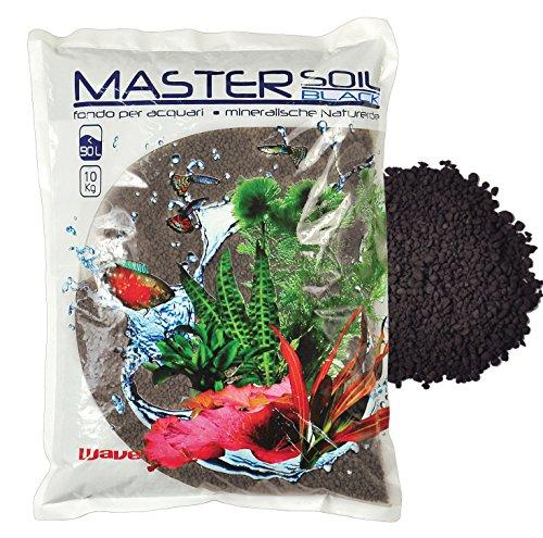 WAVE Master Bodem voor Aquarium Water Behandelingen en Test Kits, 3.3 Kg, Zwart